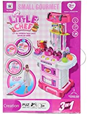 Kitchen Toy, Little Chef Toy for Kids, 43 Pieces