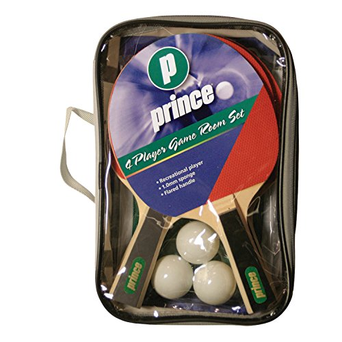 Buy Prince 4 Player Table Tennis Set with Carry Bag