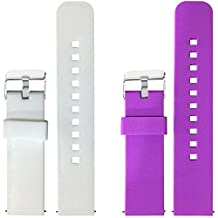 2pcs Replacement Silicone Bands for Pebble 2 Only