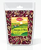 SunBest Trail Mix Nuts Seeds and Fruits (UNSALTED, RAW Pecans, Walnuts Halves and Pieces, Almonds, Pumpkin Seeds/Pepitas, and Cranberries) (Omega 3, 4 Lb)