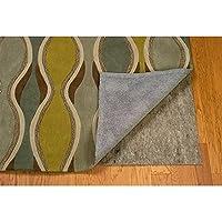 Linon Underlay-Premier Plush Area Rug, 2 x 14, Grey