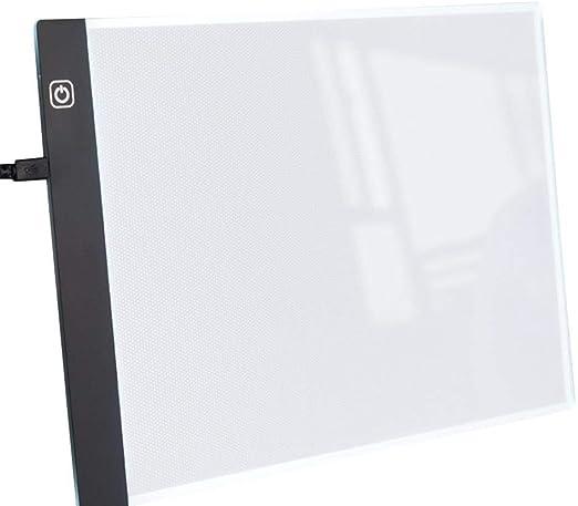 Caja de luz para dibujar accesorios LED mesa luminosa A4 caja de ...