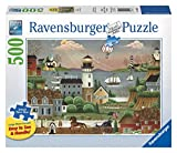Ravensburger Beacons Cove Large Format 500 Piece Jigsaw Puzzle for Adults - Every Piece is Unique, Softclick Technology Means Pieces Fit Together Perfectly