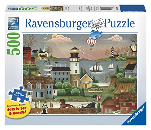 Ravensburger Beacons Cove Large Format Puzzle - Avalanche Beacon Best
