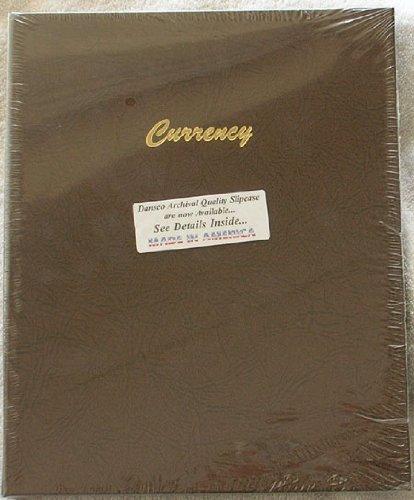 Dansco Modern Currency Stock Book Album #7001 by Dansco