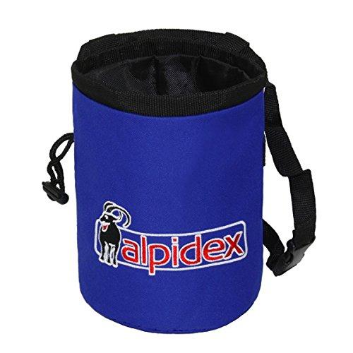 Waist Belt Magnesia Ball 35 g ALPIDEX Chalkbag Blue Night incl