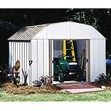 Arrow Shed LX108-A Lexington 10-Feet by 8-Feet Steel Storage Shed