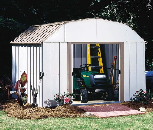 Arrow Shed LX1014-A Lexington 10-Feet by 14-Feet Steel Storage Shed