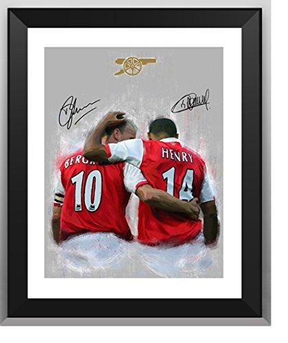 promo code fc90b aab05 ASENER Thierry Henry & Bergkamp Photo Display, Arsenal ...
