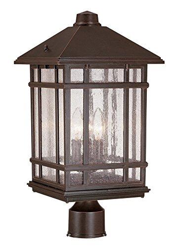 Rustic Lamp Posts Outdoor - 7