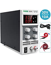 Best DC Power Supply, 30V/10 A Digital LED Desktop Switching Variable Power Supply Voltage&Current Regulated Supply Power Source for Lab Repair,Electronic Tester, Power Calculator UC3010