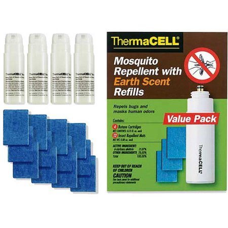(Mosquito Repellent Earth Scent Refill Value Pack 4.00 x 2.40 x 5.30 Inches)