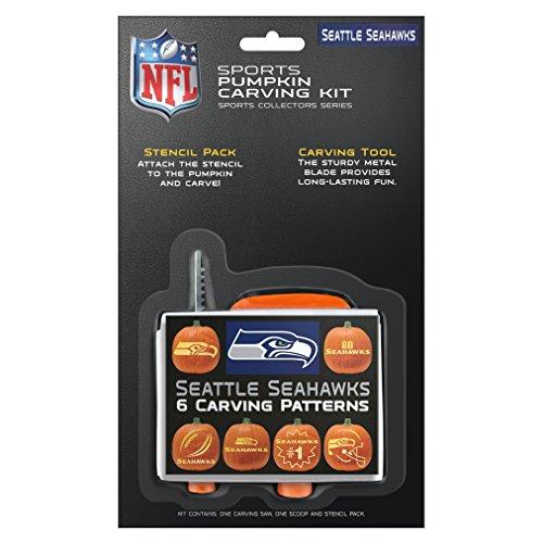 NFL Seattle Seahawks Pumpkin Carving Kit