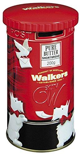 Walkers Shortbread Post Box Tin 200g Christmas Gift Santa Merry Xmas