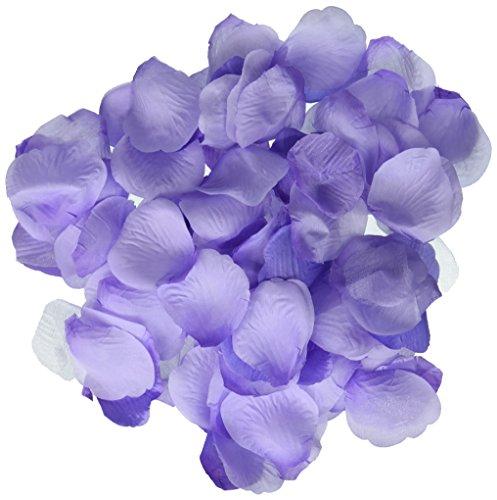 Darice RC-7210-51 Decorative Satin Loose Rose Petals, Purple, 300 Per Pack