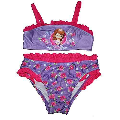 Disney Sofia The First Two Piece Tankini Swimsuit Little Girls 5T
