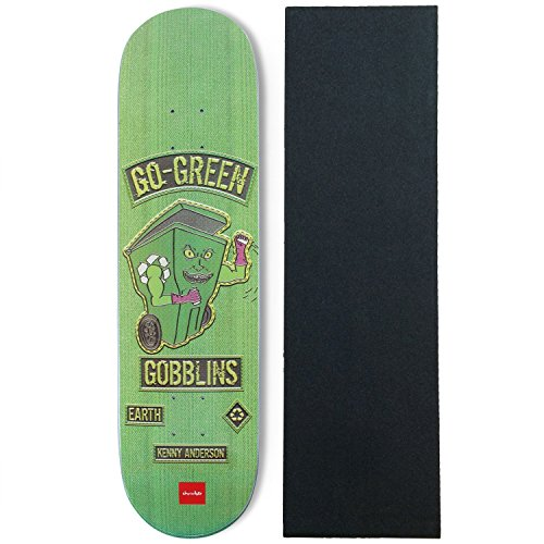 Chocolate Skateboards Deck Rider Patch Anderson 8.125