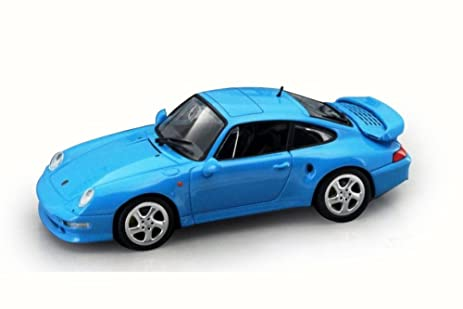 1996 Porsche 911 Turbo (993), Blue - Road Signature 94219 - 1/