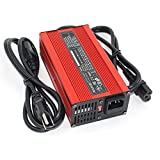 25.2V 7A Charger 22.2V Li-ion Battery Smart Charger 6S Red Aluminum shell With fan Battery pack charger Input 100VAC-240VAC