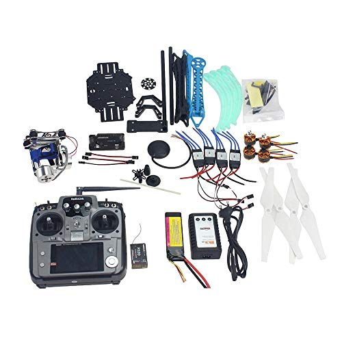 QWinOut S500 Full Kit RC Drone Quadrocopter 4-axle Aircraft Kit 500mm Multi-Rotor Air Frame 6M GPS APM Flight Control…