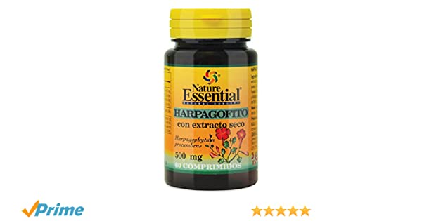 Nature Essential - Harpagofito 500 mg. (ext. seco) 60 comprimidos ...