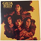 #2: Greta Van Fleet band NEW & SEALED Black Smoke Rising CD EP Highway Tune