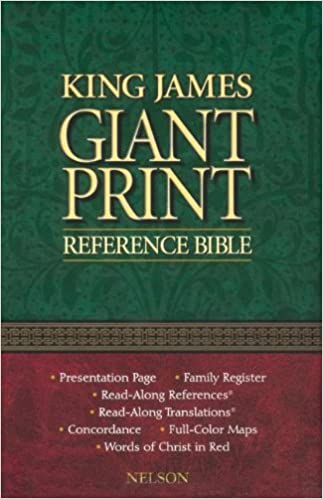 Book Giant Print Reference Bible-KJV