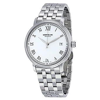 MontBlanc Tradition Automatische Stahl Herren-Armbanduhr 112632