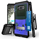 Galaxy S8 Plus Case, Trishield Durable Shockproof Rugged Full Protection Phone Cover With Detachable Lanyard Loop Belt Clip Holster And Built in kickstand Card Slot Game Controller Boy For Sale