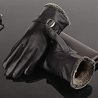 Amazon.com: Leather Gloves Men's Leather Gloves All-Finger