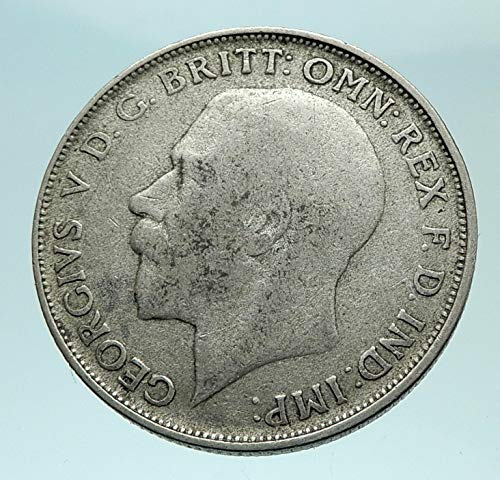 1922 unknown 1922 GREAT BRITAIN UK United Kingdom King George coin Good Uncertified