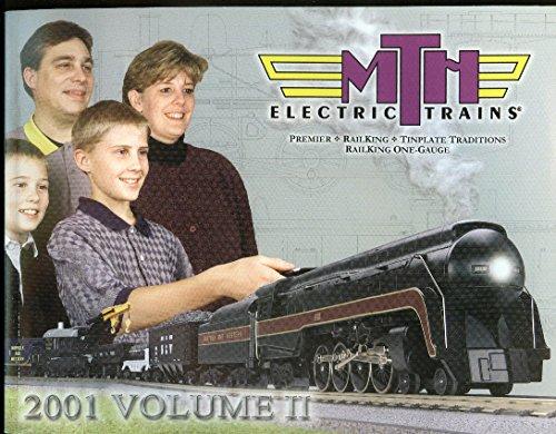 MTH Electric Trains catalog 2001 V2 Premier RailKing Timplate One-Gauge (Premier Trains Mth)