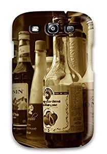 Awesome Design Drink Hard Case Cover For Galaxy S3