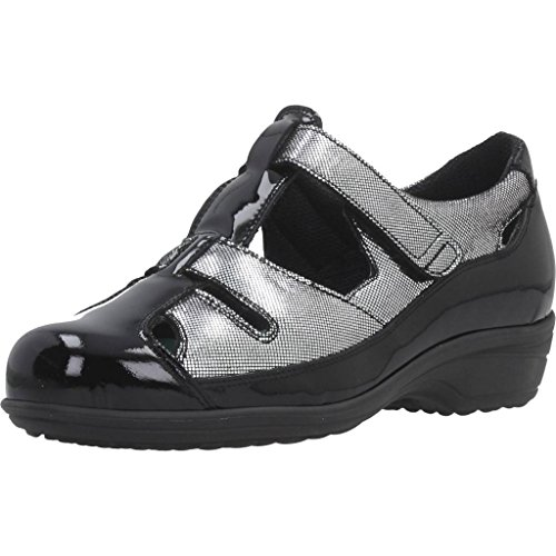 Color De PINOSOS Modelo de para Marca Negro Zapatos Negro PINOSOS Cordones Mujer Mujer para Negro Zapatos 72281 Cordones IvwUU