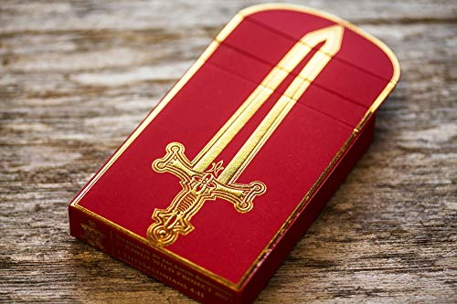 Arthurian Playing Cards - Excalibur Edition by Jackson Robinson