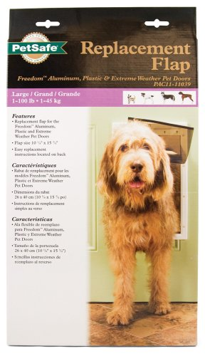 PetSafe Replacement Flap for PetSafe Freedom Pet Door 51j61k2oGSL