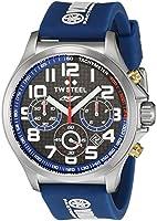 Tw Steel TW926 Reloj Unisex, Redondo, color Azul