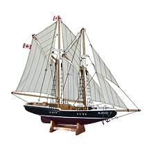 "Hampton Nautical  Bluenose Sailboat, 17"""