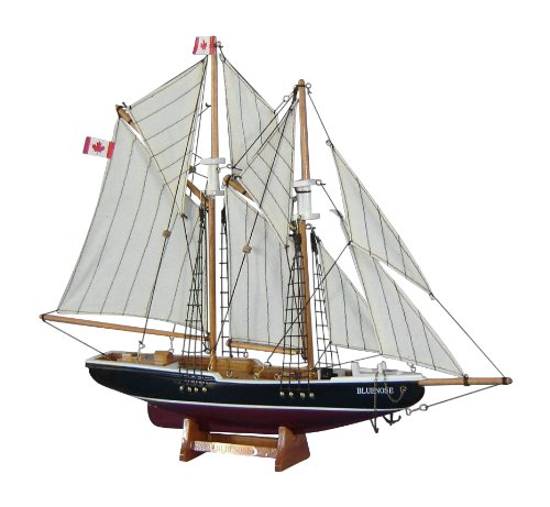 "Hampton Nautical  Bluenose Sailboat, 17"" from Hampton Nautical"