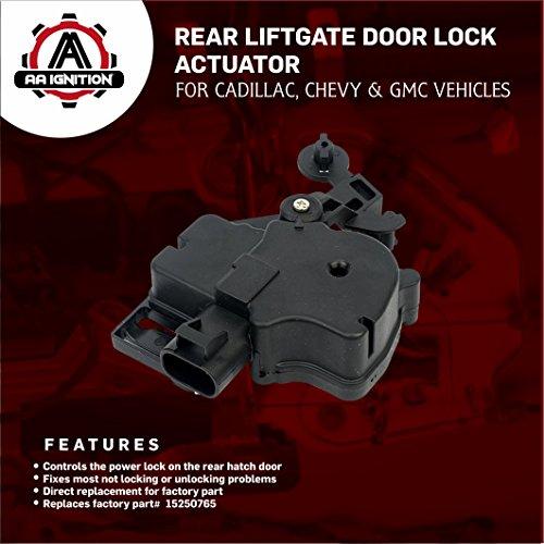 Chevy tahoe rear hatch