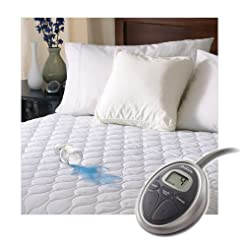 Sunbeam Heated Mattress Pad | Water-Resi...