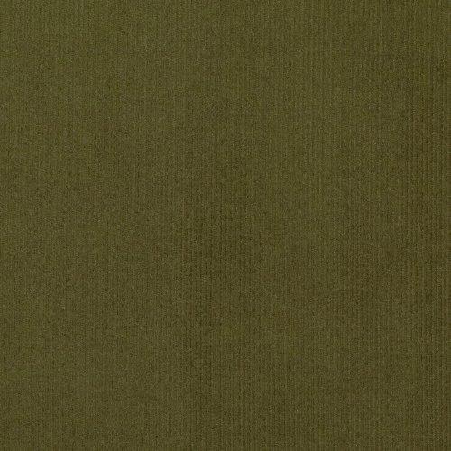 Robert Kaufman Kaufman 21 Wale Corduroy Olive Drab Fabric by The ()