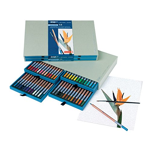Bruynzeel 48 Aquarelle Pencil Box Set by Bruynzeel