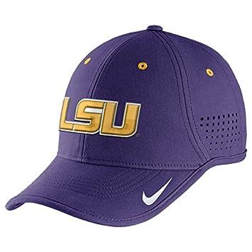 ffc05753da4ad ... new arrivals nike lsu tigers purple dri fit sideline diamond dust  coaches adjustable hat 7e64c 78c94