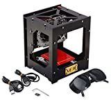 1000mw Mini DIY Laser Engraver Printer Machine Print Logo Picture /Wood /Rubber /Leather