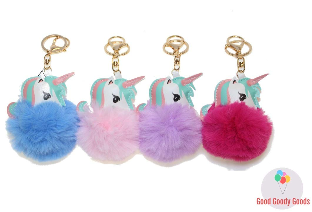 Unicorn Necklace Premium Unicorn Party Favors for 10 Guests 4 Fur Key Chain Tattoo and More 4 Fur Key Chain Good Goody Goods