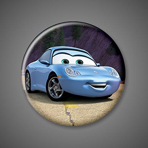 Amazon Com Disney Cars Movie Pins Pinback Set Of 6 1 75 Lightening