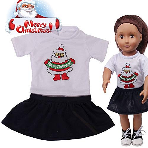 (Lywey Christmas Doll Suit for 18 Inch American Girl Doll Accessory Girl's Toy)