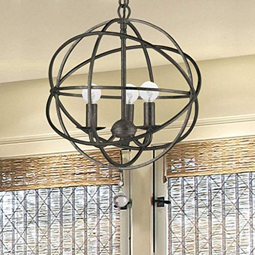 Crystorama 9225-EB Traditional Three Light Mini Chandeliers from Solaris collection in Bronze/Darkfinish, from Crystorama Lighting