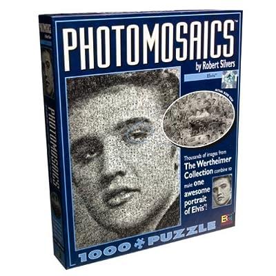 Buffalo Games Photomosaic Elvis Presley Jigsaw Puzzle 1026pc